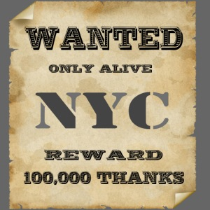 NYC wanted - New York