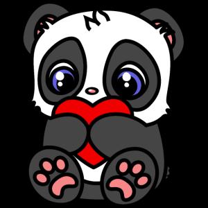 Little Heart Panda