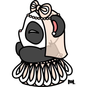 Little Panda Bride