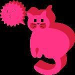 Katze Sprechblase