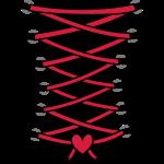 Korsett Herz