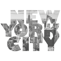 New York CITY Black/White