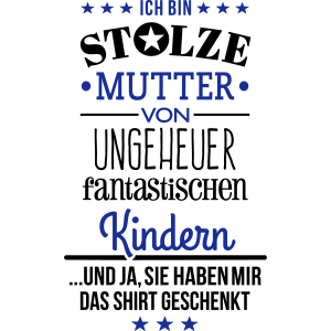 Ungeheuer fantastische Kinder - Mutter / Shirt