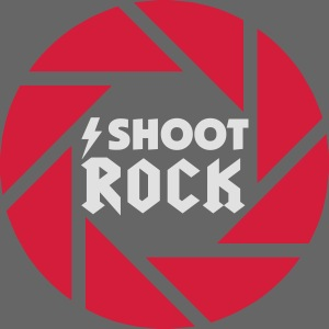 I shoot Rock (white)
