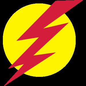 Blitz mit Kreis