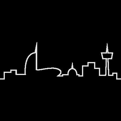 Bremerhaven Skyline V2016 - Die Skyline der Seestadt Bremerhaven Version 2016 von Kim Simon Ortgies. - ortgies,mediterraneo.,klimahaus,kim-simon-ortgies,bhaven,b-haven,atlantic-hotel-bremerhaven,Skyline,Bremerhaven,Bremen