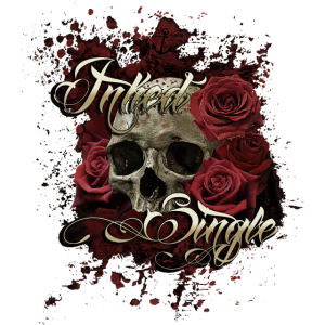 Inked Single Skull