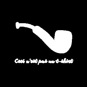 Pipe tshirt white