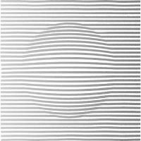 Modern Lines and Circle B/W