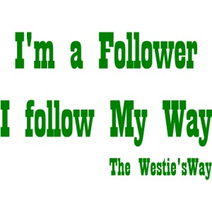 I follow My Way Green