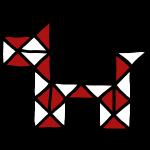 snake puzzle dog