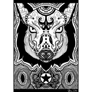 Psychedelic Boar
