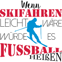 Skifahren / Fußball