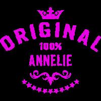 100 Prozent Annelie - RAHMENLOS Geburtstagsgeschenk Muttertag