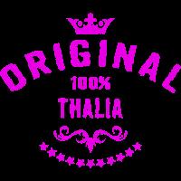 100 Prozent Thalia - RAHMENLOS Geburtstagsgeschenk Muttertag