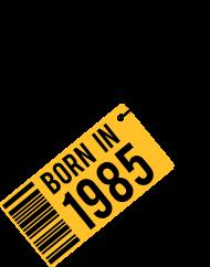 Jahrgang 1980 Geburtstagsshirt: born in 1985