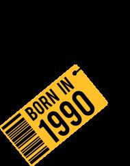 Jahrgang 1990 Geburtstagsshirt: born in 1990