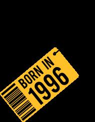 Jahrgang 1990 Geburtstagsshirt: born in 1996