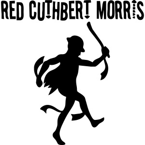 Red Red Cuthbert Logo on the back
