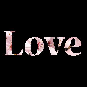 Love Blumen Text Foto