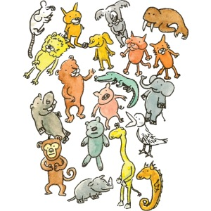Farandole d'animaux