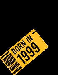 Jahrgang 1990 Geburtstagsshirt: born in 1999
