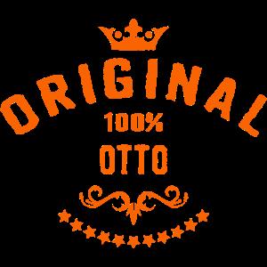 Maenner Vorname 100 Prozent Otto - RAHMENLOS Geburtstagsgeschenk Namenstag Vatertag