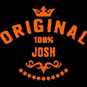 Maenner Vorname 100 Prozent Josh - RAHMENLOS Geburtstagsgeschenk Namenstag Vatertag