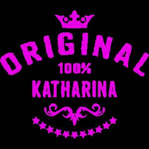 Frauen Vorname 100 Prozent Katharina - RAHMENLOS Geburtstagsgeschenk Namenstag Muttertag