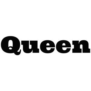 Snapback queen grijs/zwart