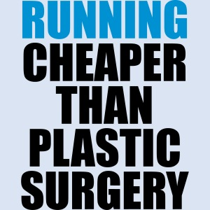 Running is cheaper than