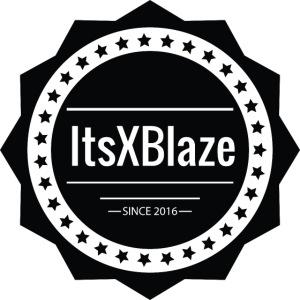 ItsXBlaze Logo 2 V-Neck Option 1
