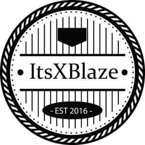 ItsXBlaze Logo 3 V-Neck Option 1