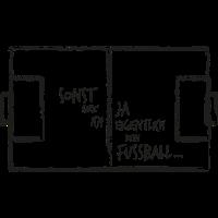 Fussballmuffel |Länderspiel-Fan