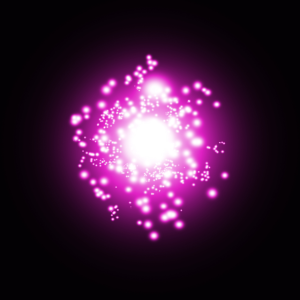 Violetter Orb
