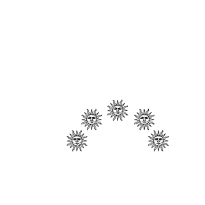 Ptolomaic Astronomy (white)