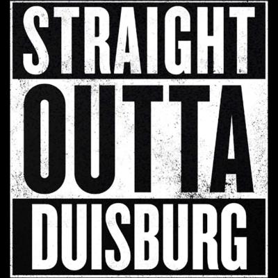 Straight Outta Duisburg - Mit dem Straight Outta Duisburg Design seid Ihr immer ganz vorne mit dabei. Ob als Hoodie, T-Shirt oder aber auch als Tanktop - zeigt jedem mit dem Straight Outta Duisburg Design wo ihr herkommt! - straight outta duisburg,straight outta,Duisburg