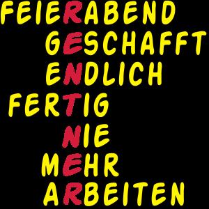 Rentner Feierabend gescha .../+
