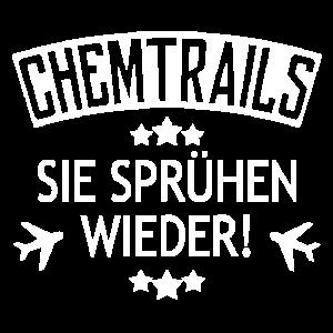 Chemtrails, sie sprühen