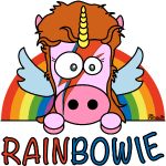 Unicorn, Licorne RainBow-ie