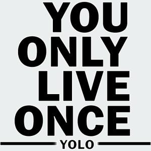 Koszulka Męska Premium YOLO