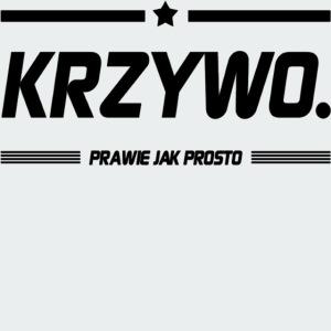 Męska Koszulka Premium KRZYWO