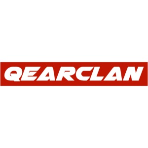 QeAr Clan red logo png