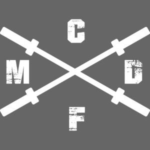 CFMD Crossed Barbells hell rechts