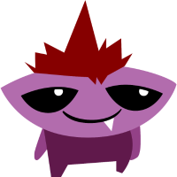 Monster violett