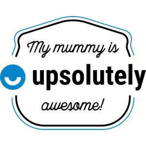 upday babygro mummy
