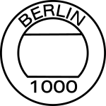 1000 Berlin Stempel