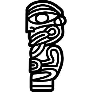 MAORI TIKI (tribal collection)