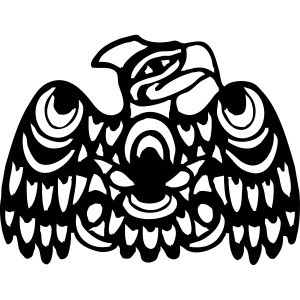 EAGLE WEST COAST SALISH (tribal collection)