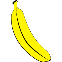 Banane Symbol Logo